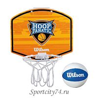 Набор для мини-баскетбола Wilson Hoop Fanatic Mini hoop kit